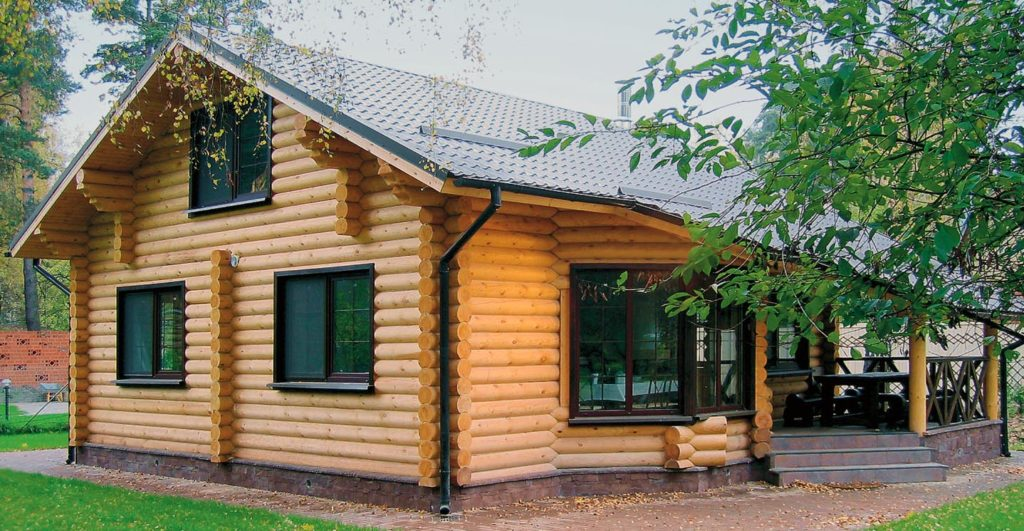Строительство дома из бревна цена