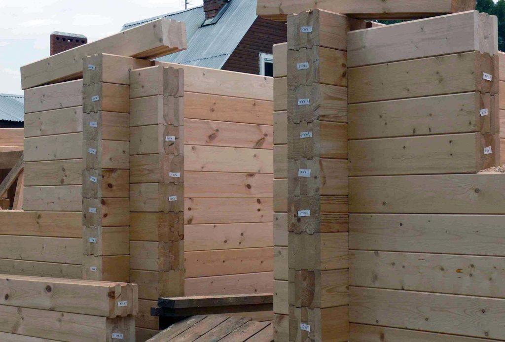 строительство домов из клееного бруса под ключ