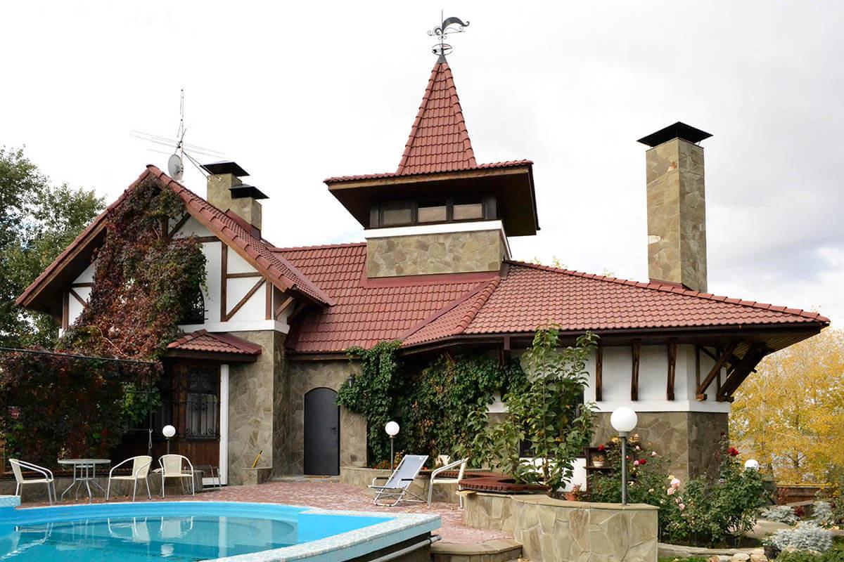 строительство жилого дома на земельном участке