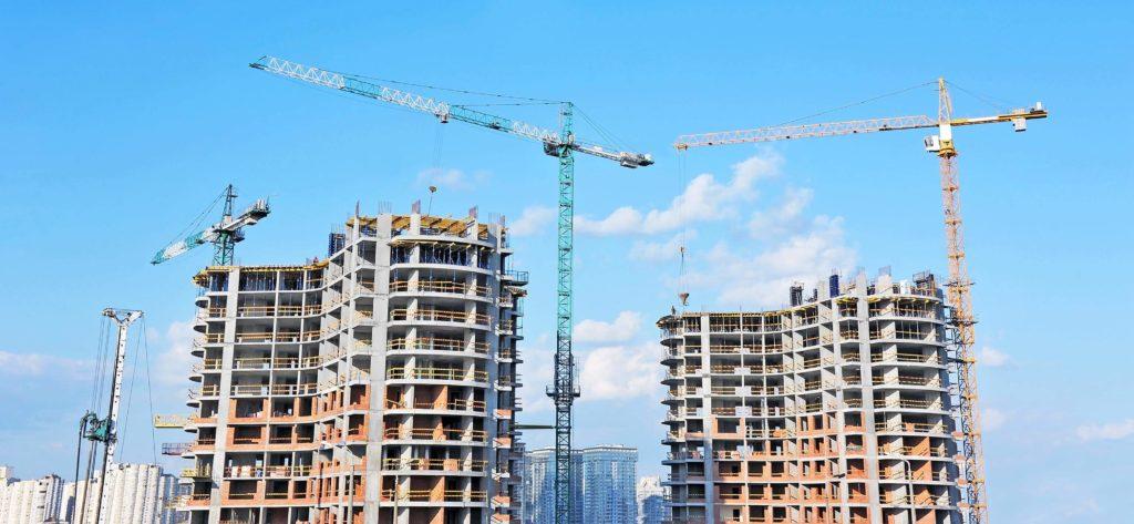 строительство новых жилых домов