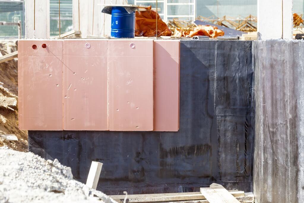 Плиты для гидроизоляции фундамента дома