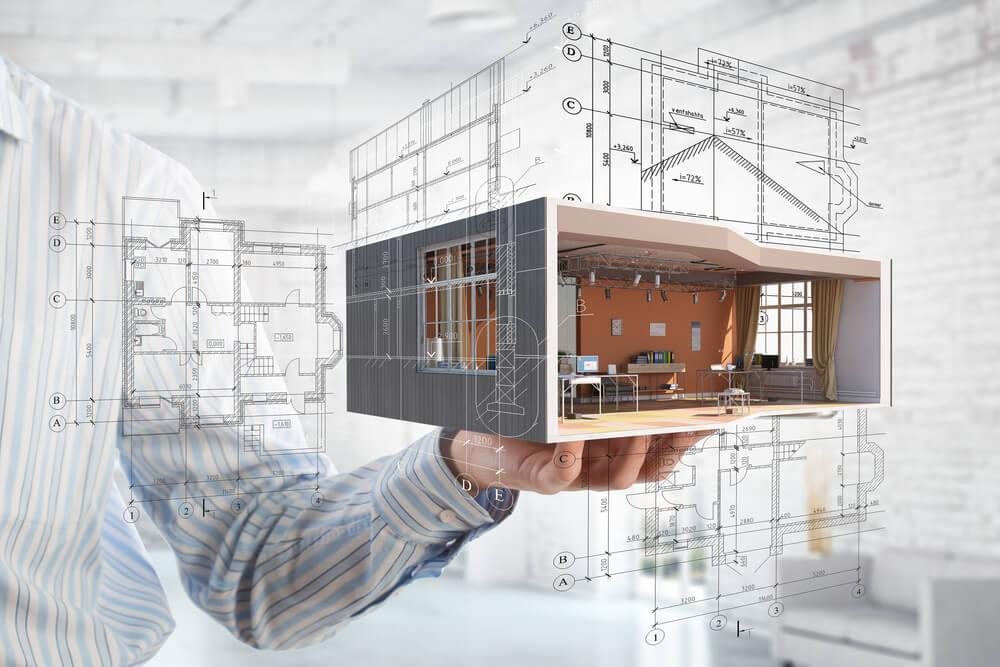 3D модель частного дома