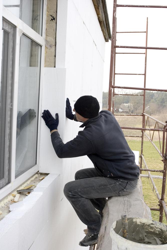 Утепление внешней стены квартиры