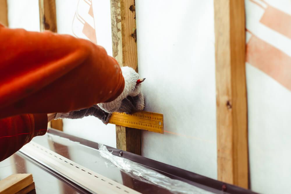 Измерения для обшивки дома сайдингом