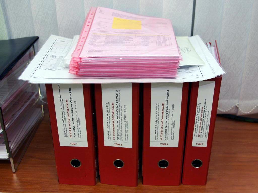 акт передачи исполнительной документации заказчику образец