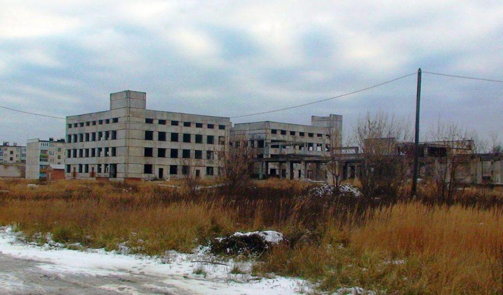 здания сооружения объекты незавершенного строительства