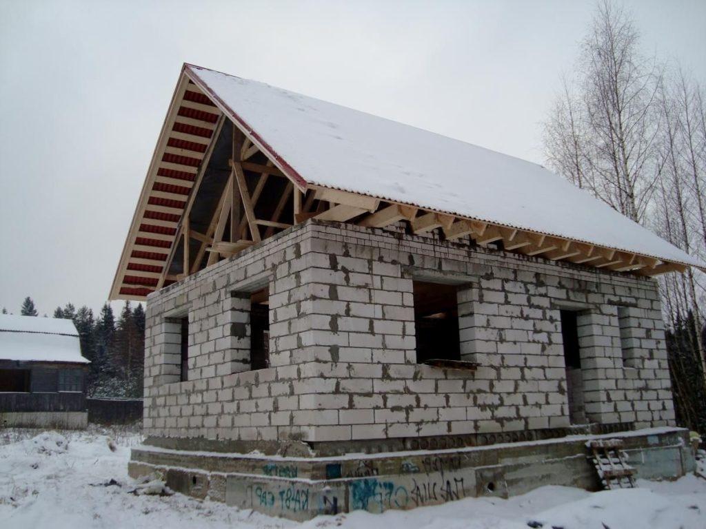 строительство дома из пеноблоков под ключ цена