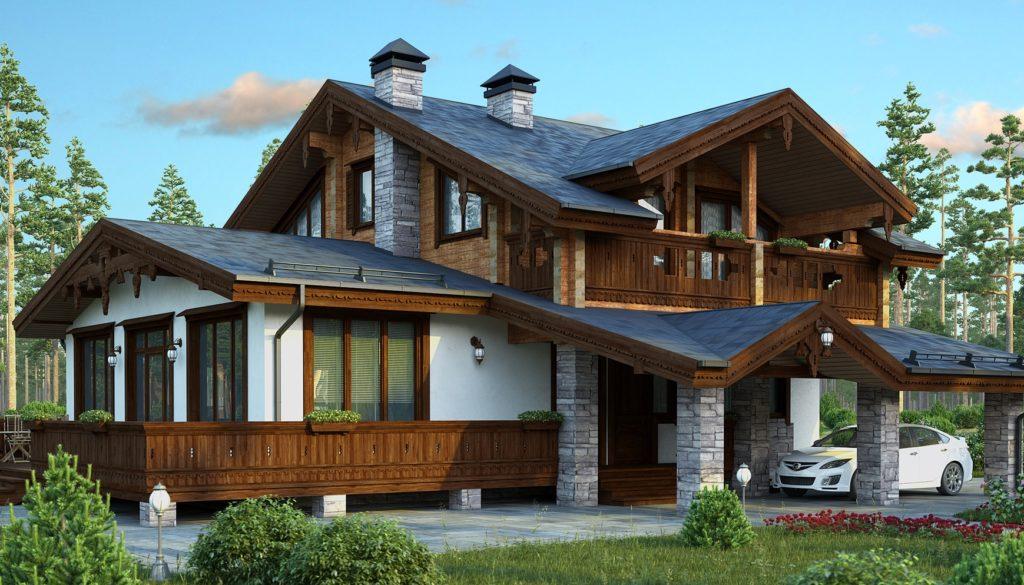 строительство домов из пеноблоков под ключ проекты