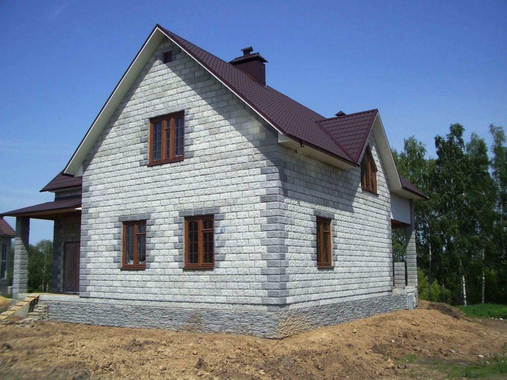 строительство домов из пеноблоков проекты и цены
