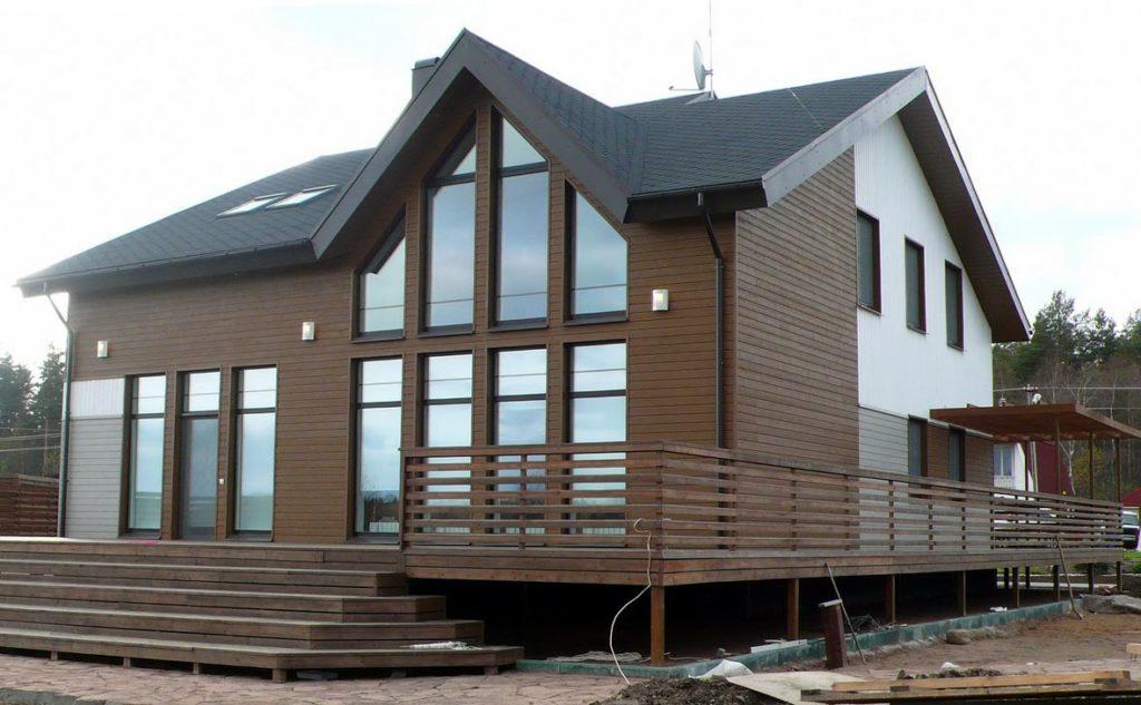 строительство дома из пеноблоков своими руками
