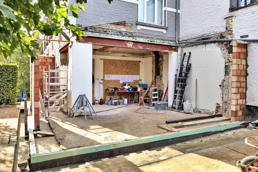 Строим пристрой к дому