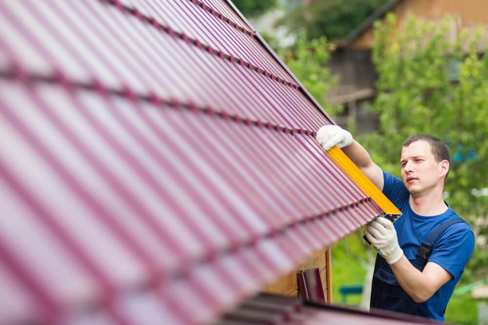 Пошаговое строительство крыши