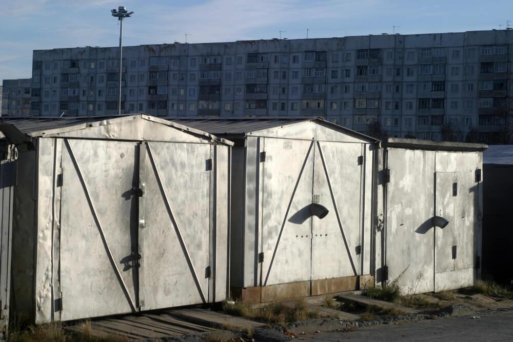 Кооперативные металлические гаражи