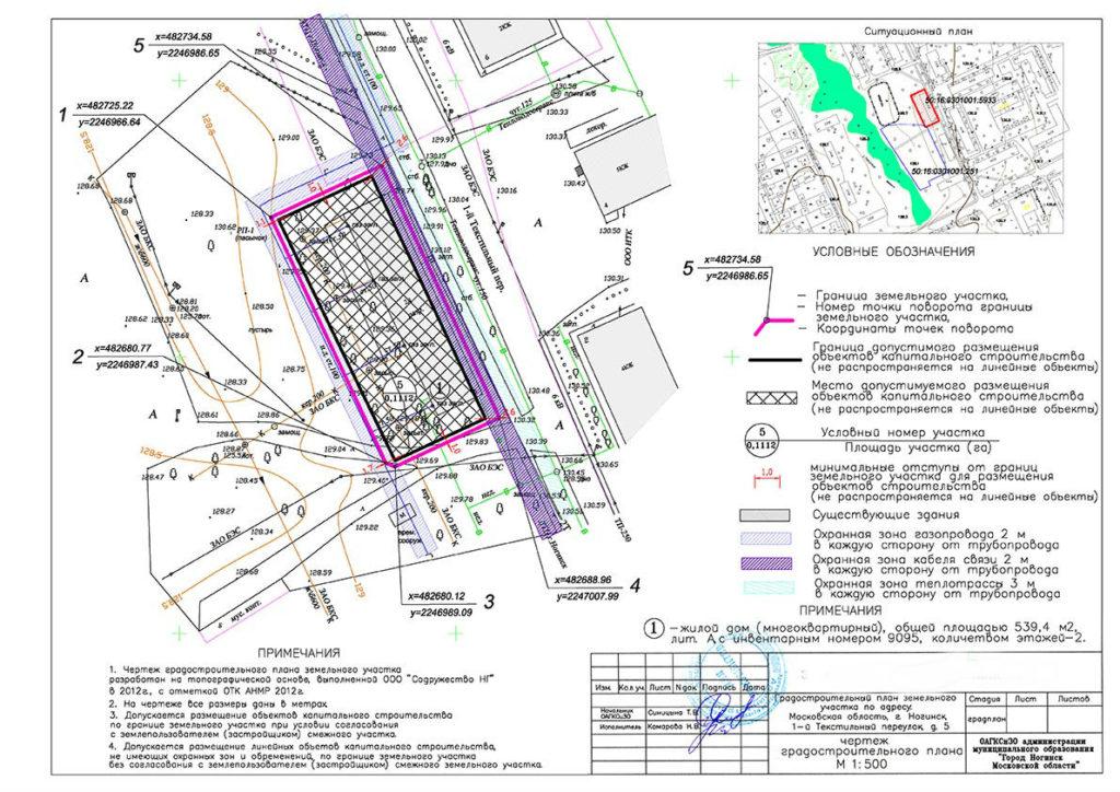градостроительный разрешение на строительство