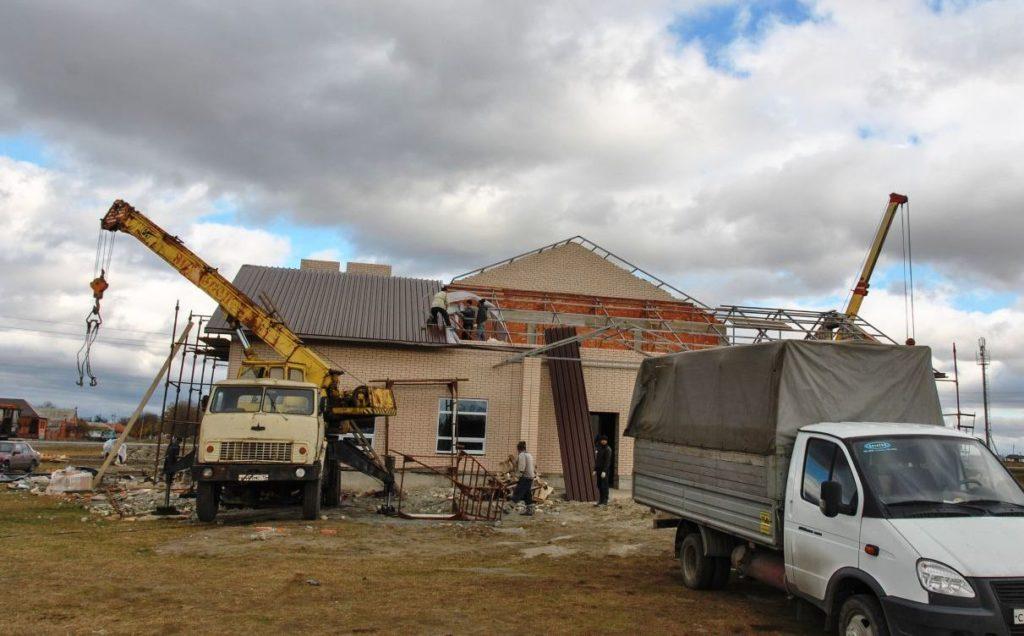 при строительстве и реконструкции каких объектов