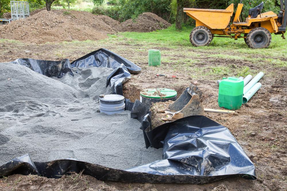 Процесс создания канализационной системы