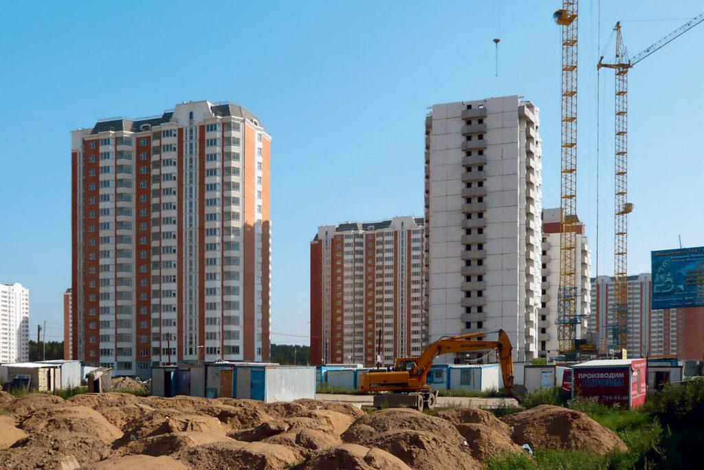 Долевое строительство многоквартирного дома