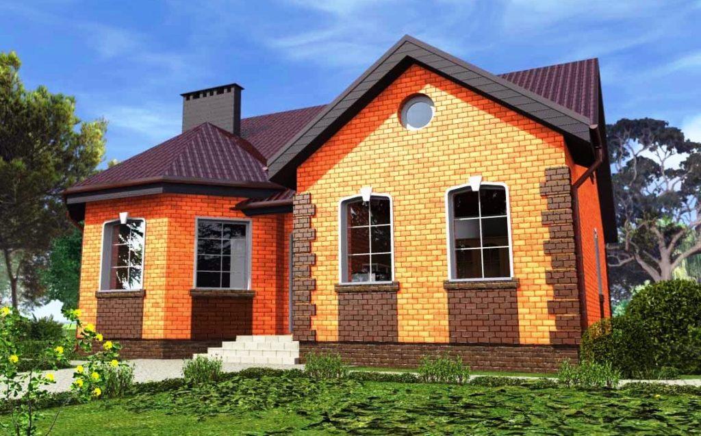 проекты одноэтажных домов под ключ