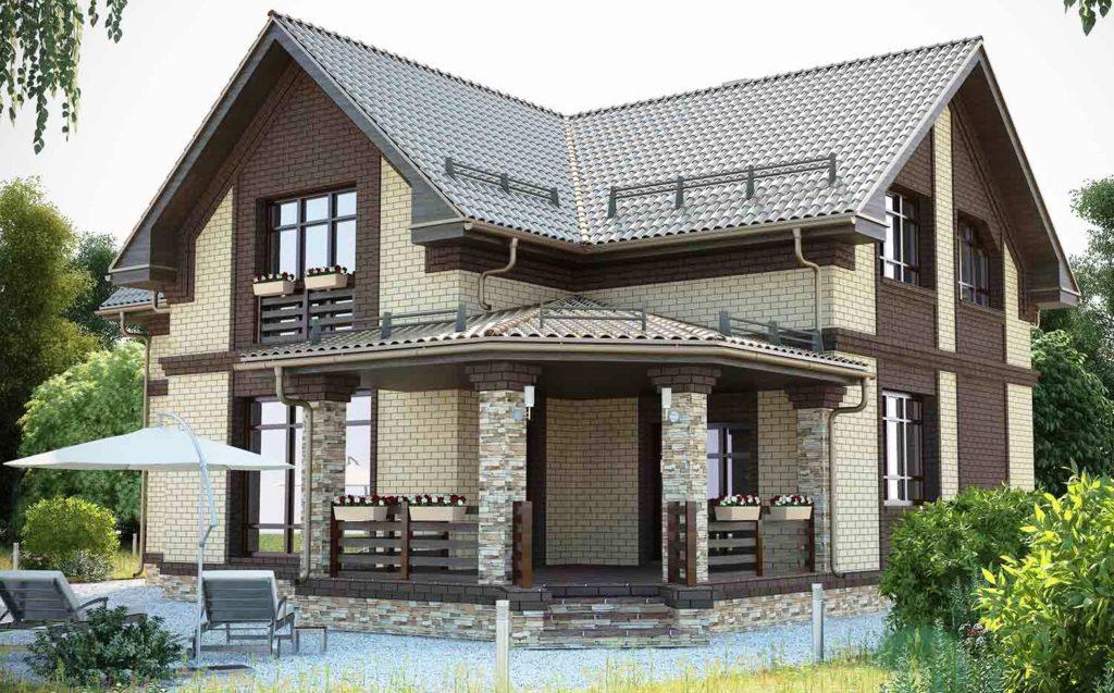 строительство дачных домов под ключ проекты